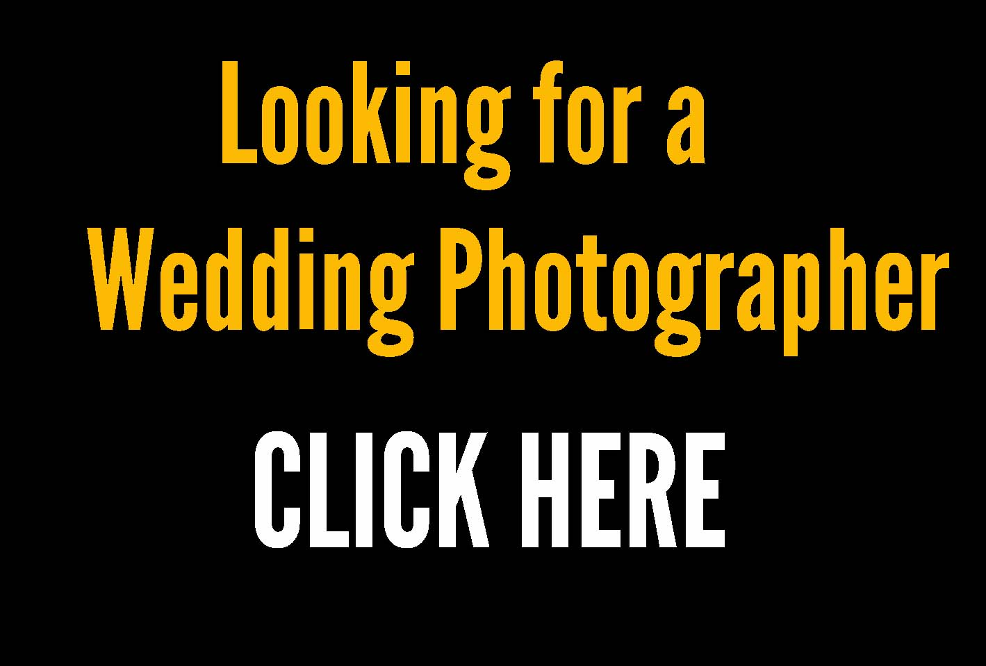 your wedding photographer