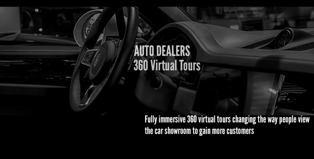 car dealership photography